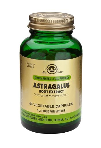 Solgar, Standardised - Full Potency Astragalus Root Extract Vegetable Capsules, 60
