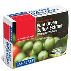 Lamberts Pure Green Coffee Extract <br>60 tabs