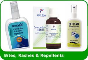 Bites, Rashes & Repellents