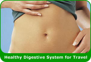 Healthy Digestive System for Travel