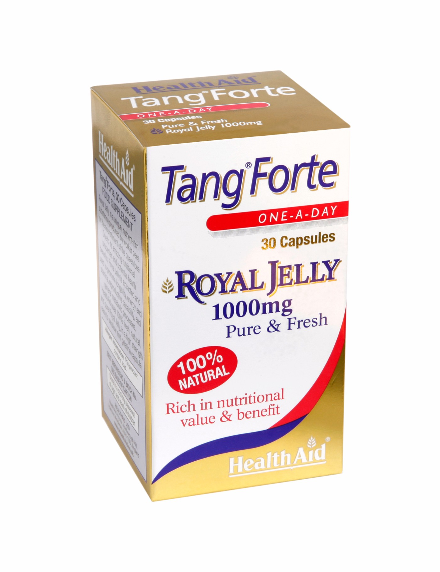 Health Aid Tang Forte Royal Jelly 1000mg<br>30caps
