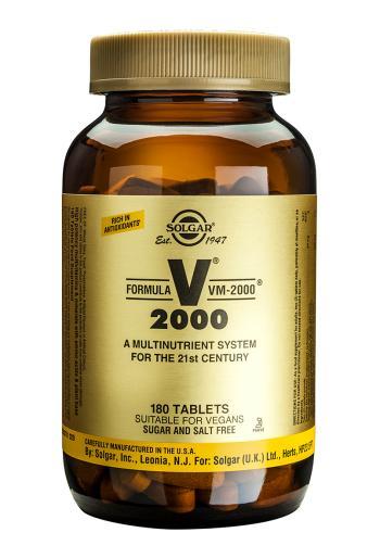 Solgar, VM-2000 Tablets, 180