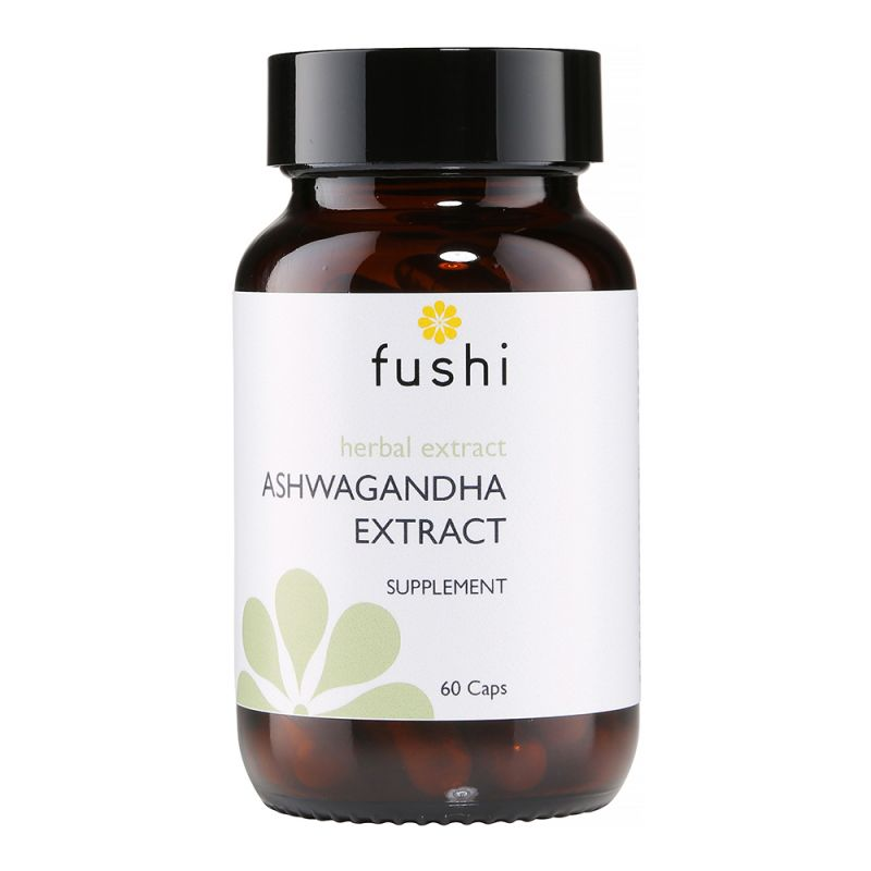 Fushi Ashwagandha Extract with Vegan MCT, High Strength 60 Caps 60 Veg Caps