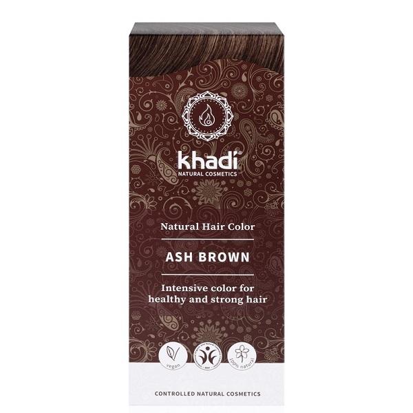 Khadi Hair Colour - Ash Brown NEW 100g
