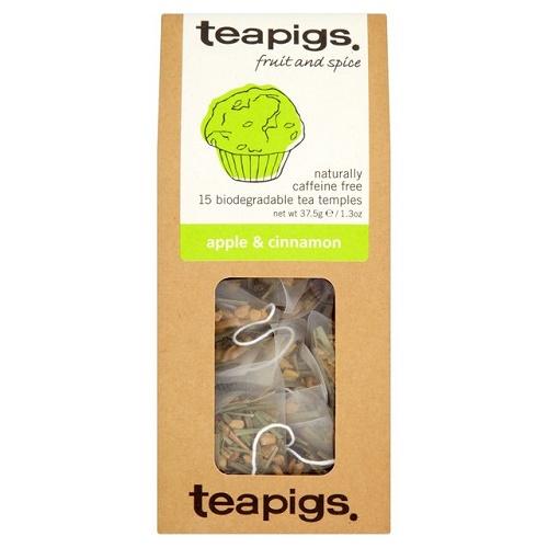 Teapigs, Apple and cinnamon, 15 bags
