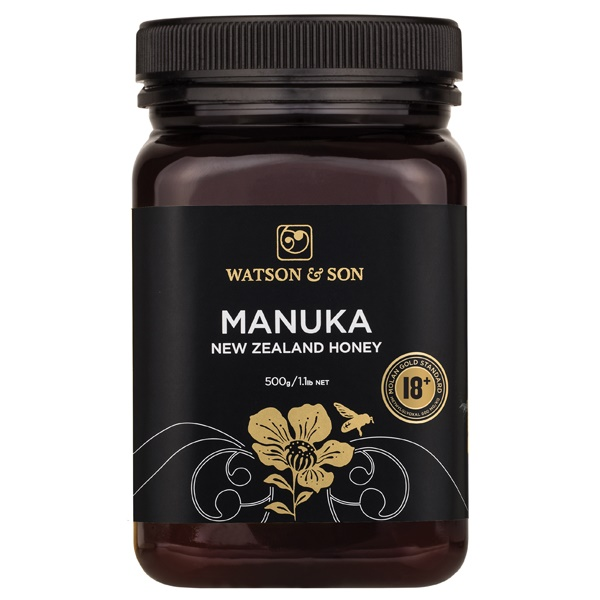 Watsons 18+ 500g Manuka Honey - BBE SEPT 2019